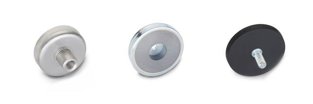 Retaining Magnets, Disc-Shaped