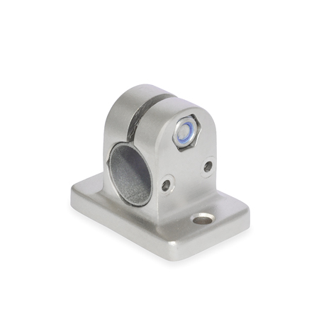 GN 145.1 Stainless Steel, Flanged Linear Actuator Connectors