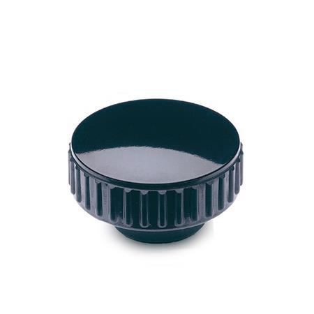 EN 530 Tuercas moleteadas de plástico fenólico, con inserto roscado de latón o de acero inoxidable