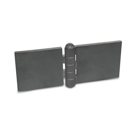 GN 1366 Steel Profile Hinges, for Welding
