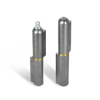 GN 128 Bisagras para soldar de acero