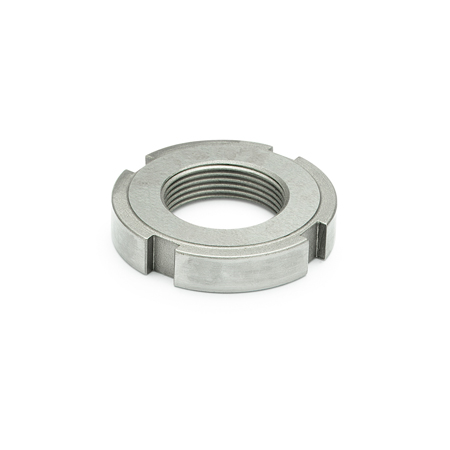 DIN 1804 Stainless Steel Slotted Spanner Nuts