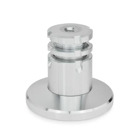 GN 360 Steel Leveling Sets  Material: ST - Steel Type: B - With lock nut Footdiameter d<sub>1</sub>: 79