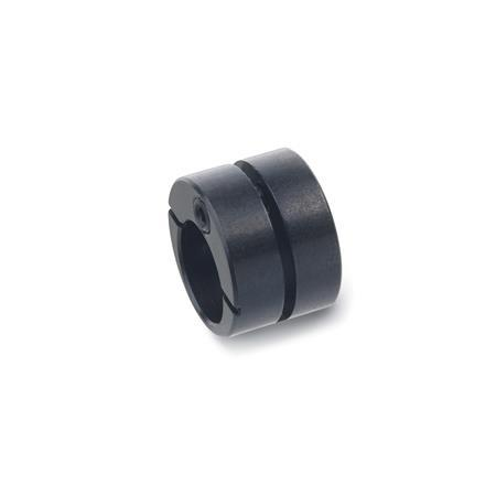 GN 715.2 Steel Eccentric bushings,  for GN 714 and GN 715 side thrust pins