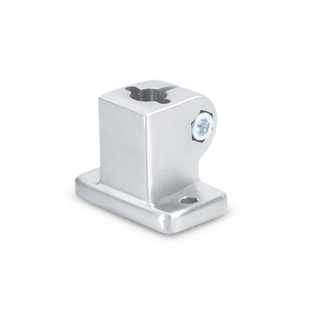 GN 162.3 Stainless Steel, Base Plate Connector Clamps