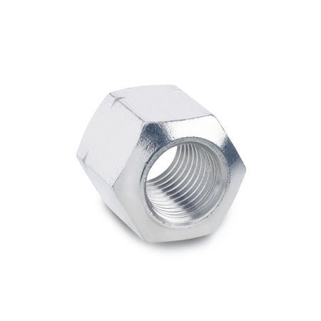 DIN 6330 Stainless Steel Fixture Nuts, With Spherical End