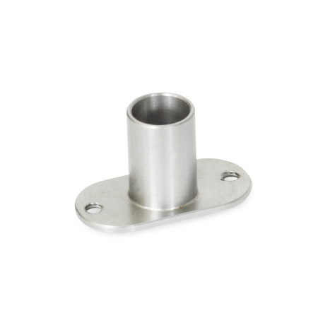FR 100.2 Stainless Steel Flanged Receptacles, for Rapid Release Pins