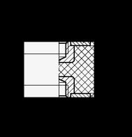 GN 451.3 Soportes aisladores de vibración, de tipo cilíndrico, con componentes de acero inoxidable boceto