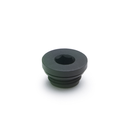 EN 746 Technopolymer Plastic Hexagon Socket Threaded Pipe Plugs, with NBR Synthetic Rubber Seal