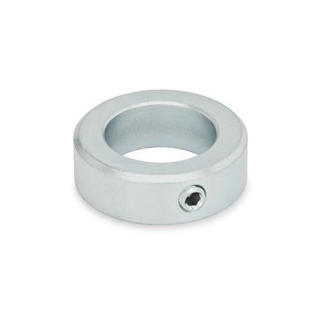 GN 705 Collares de fijación de acero, zincado