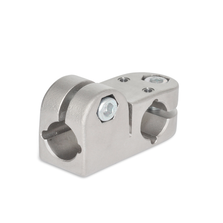GN 191.1 Stainless Steel, T-Angle Linear Actuator Connectors