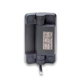 EN 239.6 Bisagras de plástico tecnopolímero con interruptor de seguridad integrado, con cable Tipo: BK - Cable por la parte inferior